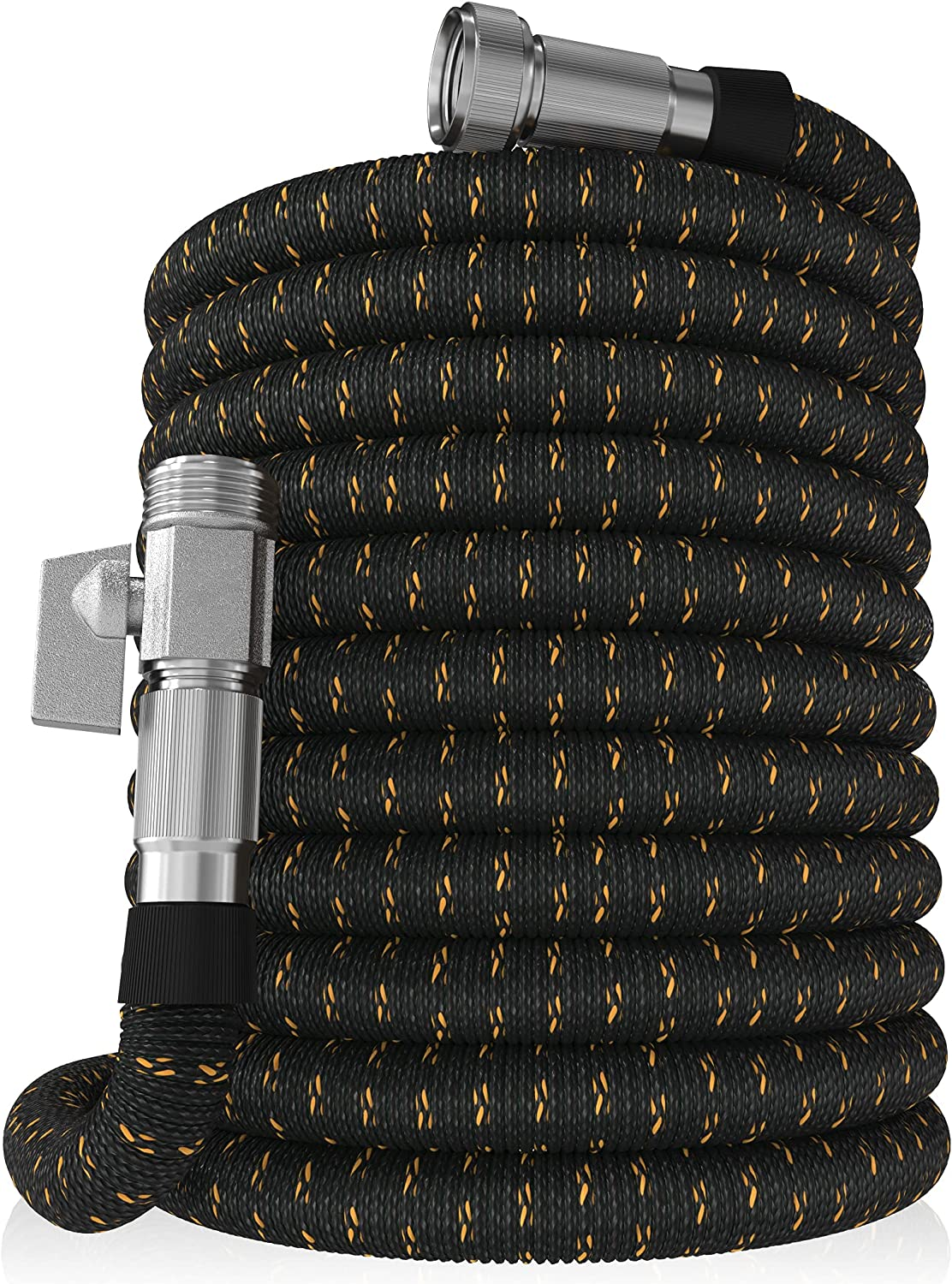 GUIDEGARDEN 100ft Garden Hose - NEW Expandable Water Hose with Double Latex Core, 3/4