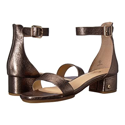 Yosi Samra Daniel (Dark Gold Metallic Textured Leather) Women