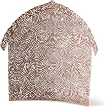 Willow Tree Shelter for The Holy Family, pierced-metal nativity backdrop