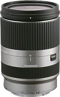 Tamron 18-200mm F/3.5-6.3 Di III VC Zoom Lens for Canon EF-M SilverOS - Silver