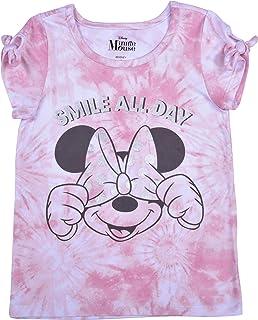 NWT Girl/'s Disney Minnie Mouse T-Shirt Size Small Grey w// Multi #684L