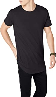 Urban Classics Men's Shaped Long Shortsleeves Tall Tee, Crew Neck, 100% Jersey Cotton, Available, Sizes: XS-5XL