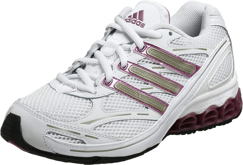 Adidas Harmony W sautopa da corsa, bianco   ciliegia   radianti, 8 M