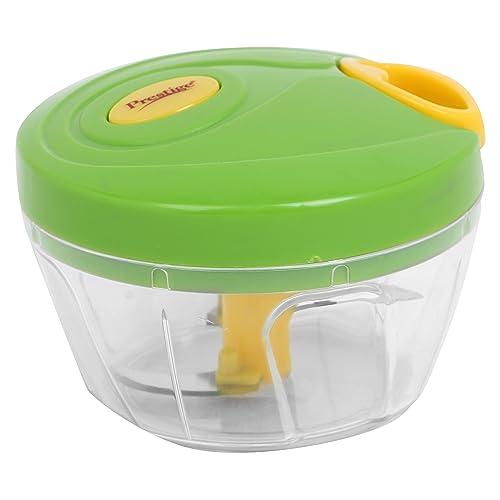 Prestige 3.0 Plastic Veggie Cutter (Green, 350 ml)