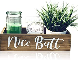 Nice Butt Bathroom Decor Box - Toilet Paper Holder -...