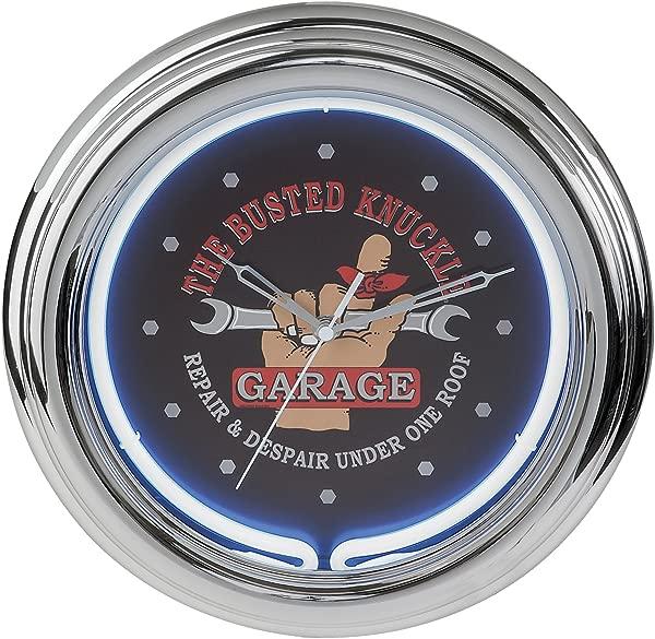 Busted Knuckle Garage BKG 76600 Neon Clock