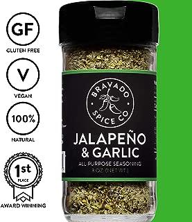 Jalapeno and Garlic All-Purpose Seasoning   Gluten Free   Vegan   All Natural