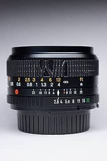 MINOLTA Celtic MC 28mm f3.5 Lens