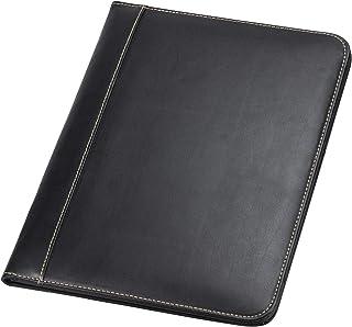 Samsill Contrast Stitch Leather Padfolio – Lightweight & Stylish Business Portfolio for Men & Women – Resume Portfolio, 8....