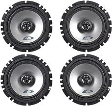 "(2) Pairs Alpine SXE-1725S 6.5"" 40 Watt RMS 4 Ohm 2-Way Coaxial Car Audio Speakers photo"