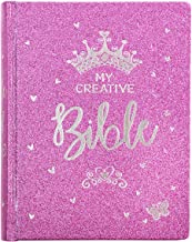 ESV Holy Bible, My Creative Bible For Girls, Purple Glitter Hardcover Bible w/Ribbon Marker, Illustrated Coloring, Journal...