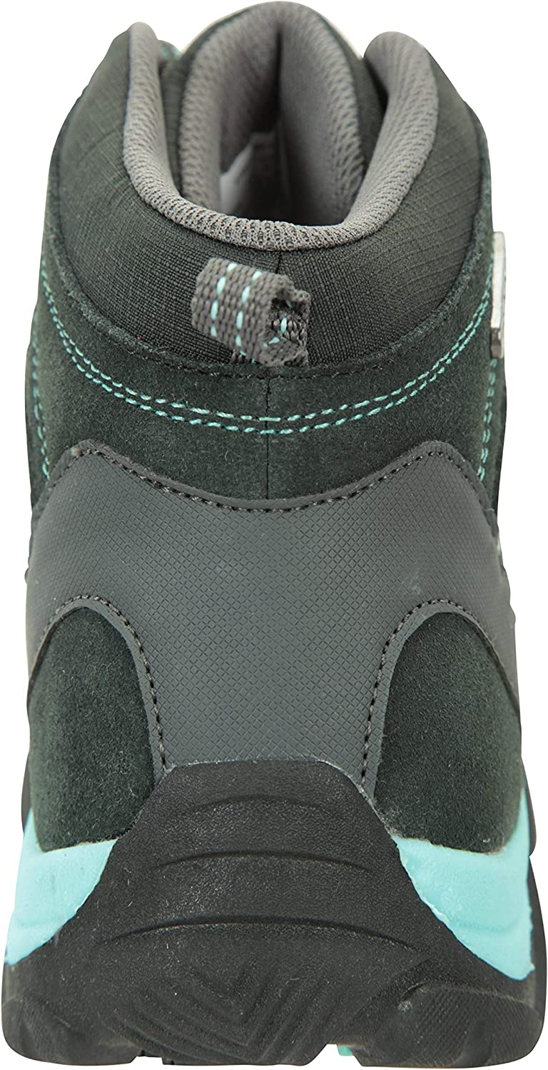 Mountain Warehouse Trail Kids Waterproof Boots EVA Footbed Childrens Footwear High Traction Synthetic Mesh Upper Girls /& Boys Shoes Best for Hiking Walking