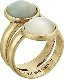 Double Set Stone Ring