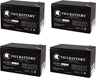 VICI Battery 12V 9AH SLA Replacement Battery for HR-1234W-F2-4 Pack Brand Product