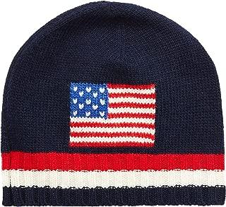Polo Ralph Lauren Men`s Wool Blend Knit Flag Hat
