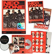 NCT 127 2nd Album - NCT # 127 NEO ZONE [ C ver. ] CD + Photobook + Lyrics Book + Postcard Posters + Sticker + Folding Post...
