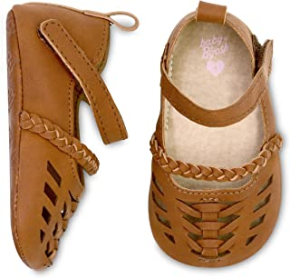 Girls Huarache Sandal Crib Shoe