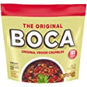 Boca Veggie Ground Crumbles Made with Non-GMO Soy, 12 oz Pouch