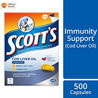 SCOTT's Pure Cod Liver Oil, 500ct
