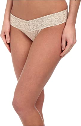 fae6f391bf3 Signature Lace Low Rise Thong. Hanky Panky. Signature Lace Low Rise Thong.   22.00. Cross-Dyed Signature ...