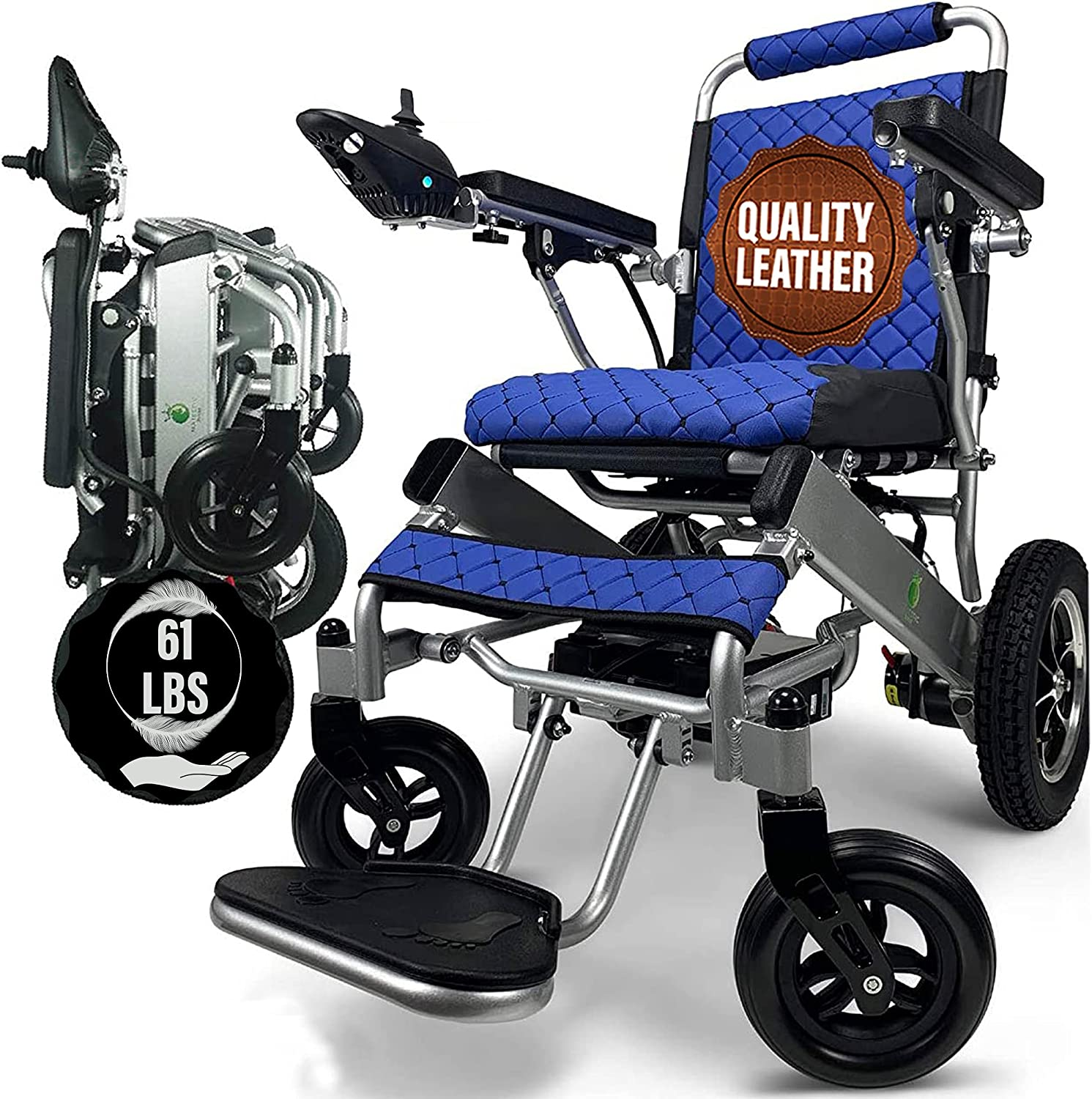 MALISA Electric Wheelchair for NEW Adults All Portable Terrain Ligh Some reservation