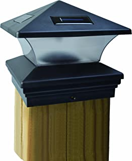 Moonrays 91268 Solar-Powered Post Cap LED Light for 6 by 6 Posts