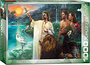 EuroGraphics First Creation Eden by Nathan Greene 1000-Piece Puzzle