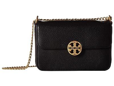Tory Burch Chelsea Mini Bag (Black) Bags