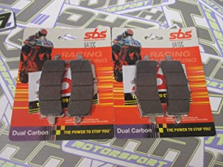 2008 GSX-R SBS FRONT BRAKE PADS Dual Carbon 806DC Rad Cal SUZUKI GSXR 1000 K8