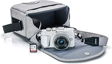 Olympus PEN E-PL9 Kit with 14-42mm EZ lens, Camera Bag, and Memory Card (Pearl White)