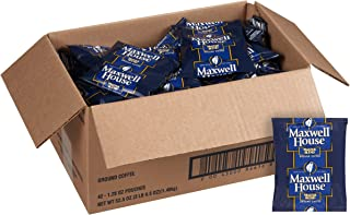 Maxwell House Medium Blend Shy Ground Coffee (1.25 oz Bags, Pack of 42)