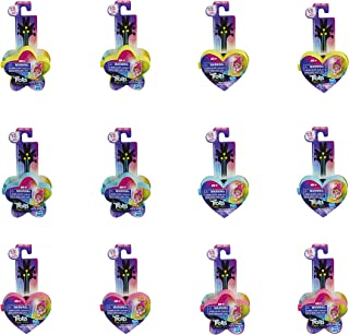 DreamWorks Trolls World Tour Tiny Dancers Serie 1 Figuras para modelar y coleccionar, 1 de 12 personajes diferentes, con a...