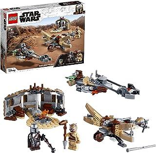 LEGO 75299 Star Wars: The Mandalorian Trouble on Tatooine Building Set with Baby Yoda The Child Figure, Season 2 Playset