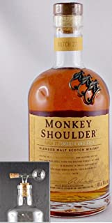 Monkey Shoulder Blended Malt Whisky  1 Glaskugelportionierer