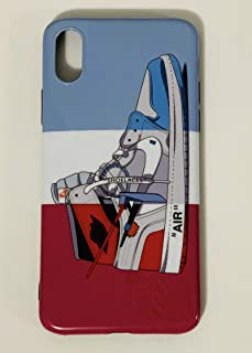 iPhone Shoe Case, Chicago/EU/UNC Off White 1s Slim Shock Absorbing Protective Sneaker Fashion Case (iPhone 6 / 6s)