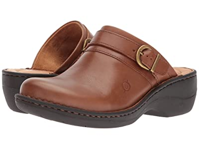 Born Avoca (Brown (Cognac) Full Grain Leather) Women