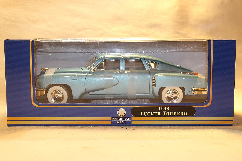 mejor opcion 1948 Tucker Torpedo 1 18 18 18 Scale Diecast - American Mint Premium Edition azul Metallic by American Mint  suministramos lo mejor