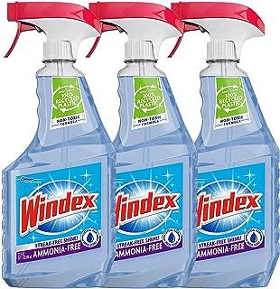 Windex Cleaner Spray, Crystal Rain Ammonia Free, 26 Ounce (Pack Of 3)
