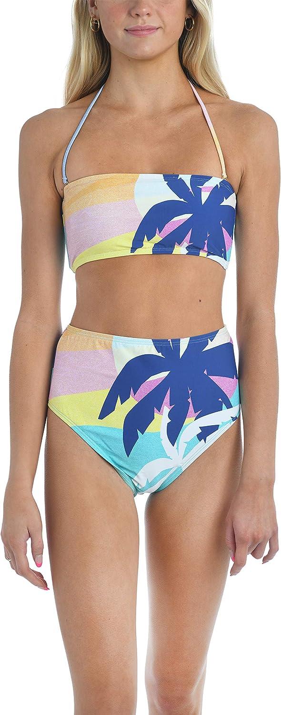 Hobie Women's Bandeau Bra Bikini Swimsuit Top