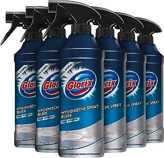 Glorix Spray Bleek, voor 100% hygiënische reiniging - 500ML x 6 stuks - Multipack