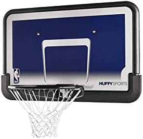 "Spalding 44"" Eco-Composite Basketball Backboard & Rim Combo"
