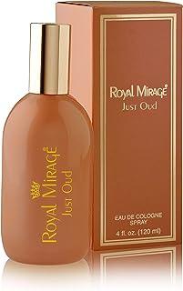 Royal Mirage Just Oud Eau De Cologne Perfume For Men, 120 ml