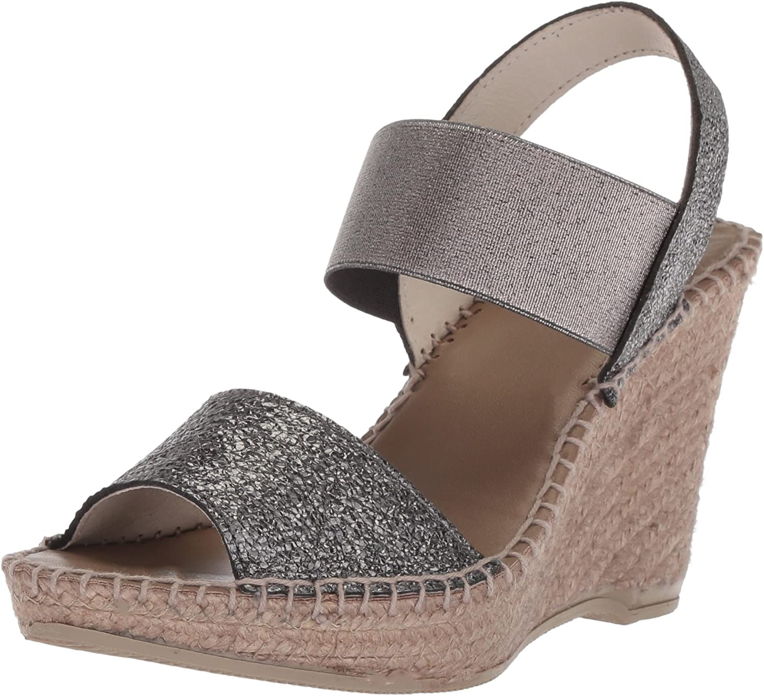 André Assous Womens Charlee Espadrille Wedge Sandal