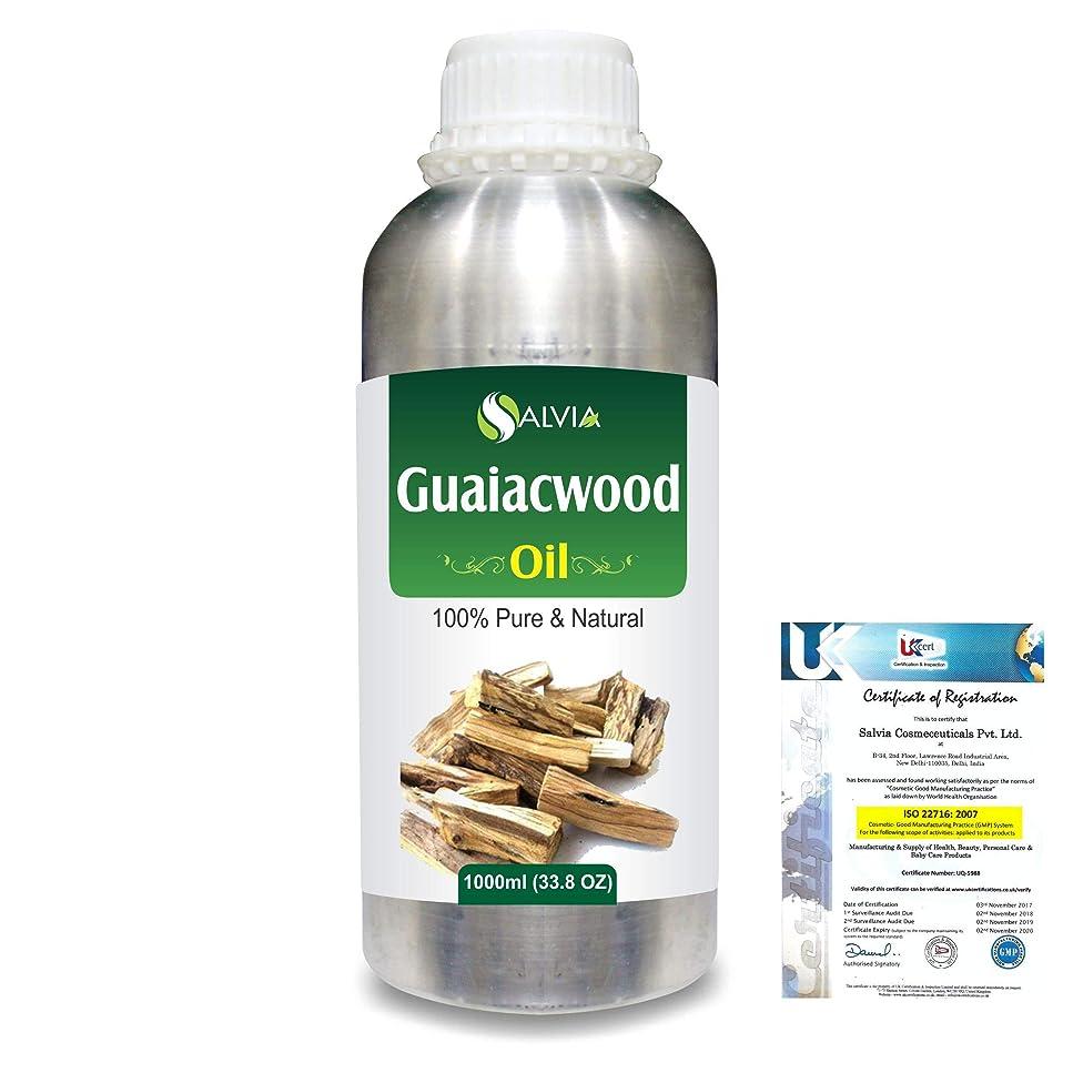 汚染された留め金ぜいたくGuaiacwood (Bulnesia sarmientoi) 100% Pure Natural Essential Oil 1000ml/33.8fl.oz.