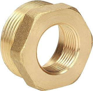 connettori ideali per industria PE 25 x 1//2 manicotto riduce il manicotto in ottone per tubo in polietilene industria e casa.