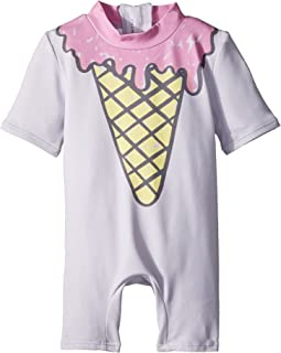 Sonny Ice Cream Print All-In-One Swimsuit (Infant)