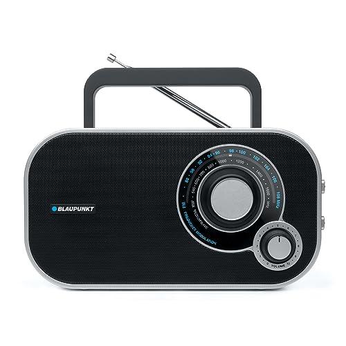 Blaupunkt BTA 6000 Radio Analogique Portable FM/MW Noir