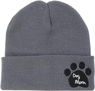 paw print crochet hat