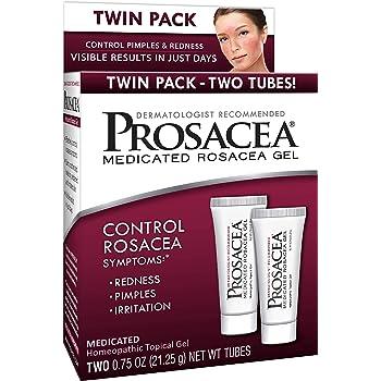 Amazon Com Prosacea Medicated Rosacea Gel Controls Rosacea