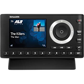 SiriusXM SXPL1H1 Onyx Plus Satellite Radio with Home Kit with Free 3 Months Satellite and Streaming Service($15 Activation fee) (Renewed)